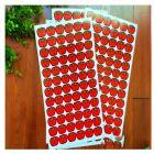 国产 大苹果 儿童奖励贴纸 红色 100张/包