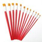 国产 3号 尼龙油画笔 红色(单位:个)